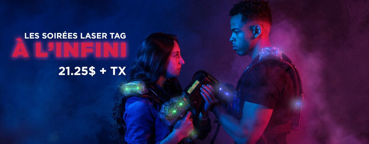 Laser Tag à volonté