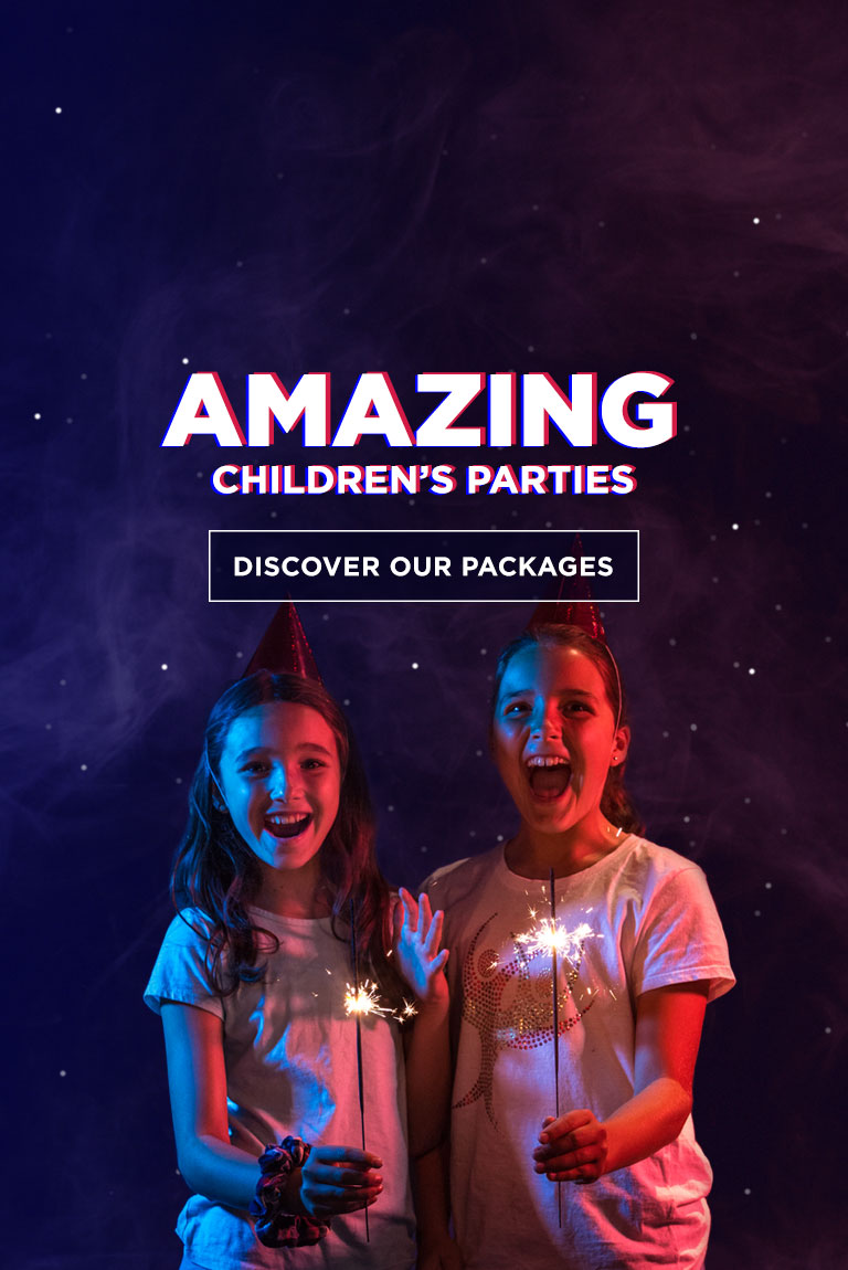 amazing children's party package