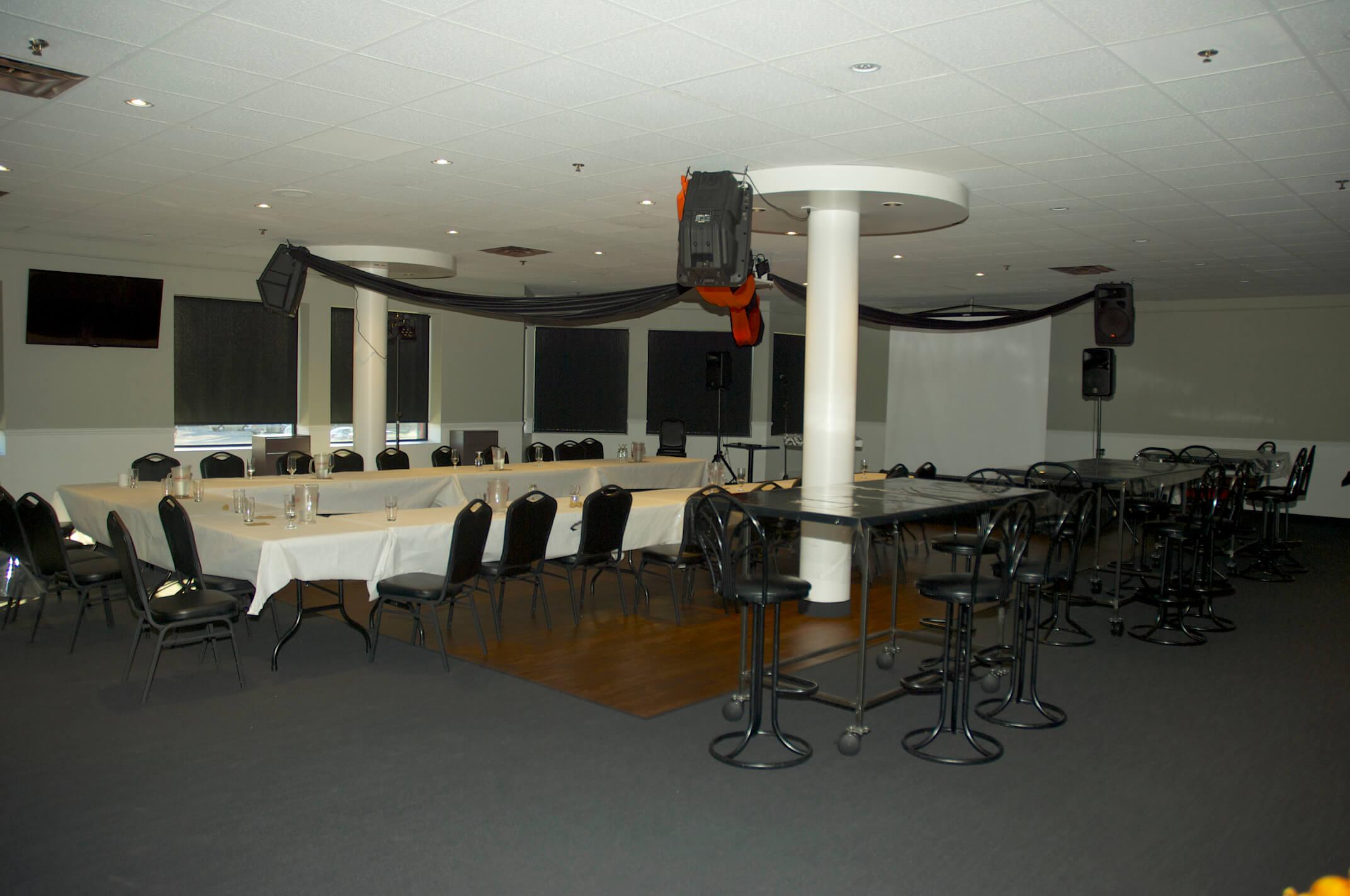 Salle de réception le 2e au BoulZeye