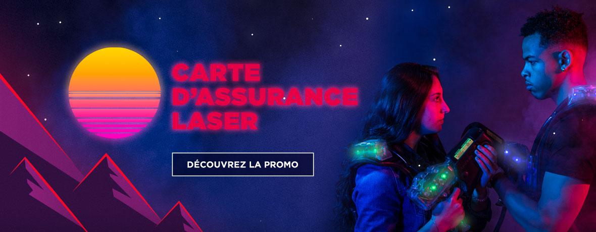 Carte d'assurance laser